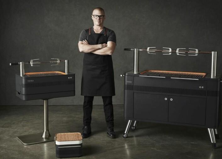 Heston Blumental er en verdenskjent kokk.
