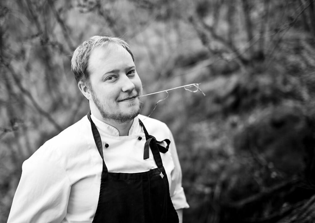 Bjarte Finne er kjøkkensjef på Fretheim Hotel.
