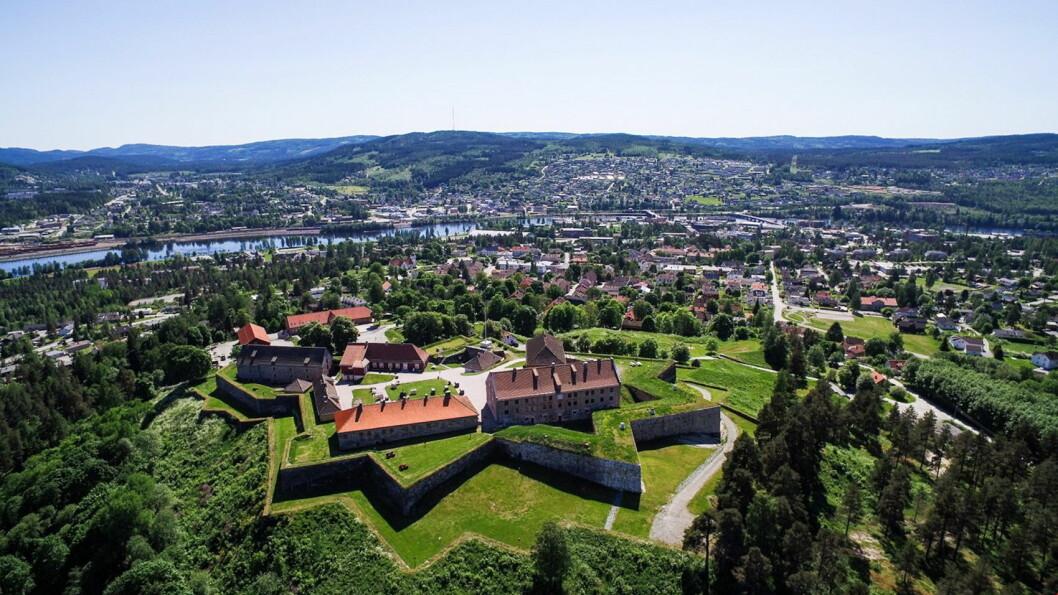 Festningen Hotel & Resort i Kongsvinger er kåret til beste festnings- og slottshotell i Europa. (Foto: De Historiske)