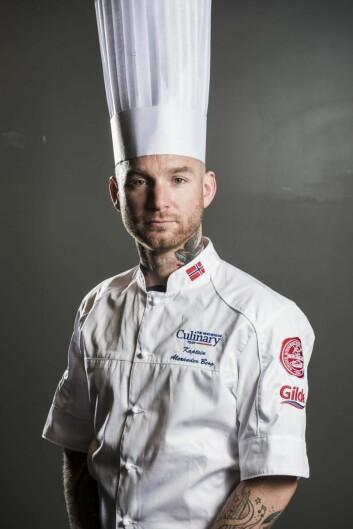 Alexander Østli Berg er kaptein på det norske kokkelandslaget. Nå skal han være med på det norske laget i Nordic Chefs team Challenge. (Foto: NKL)