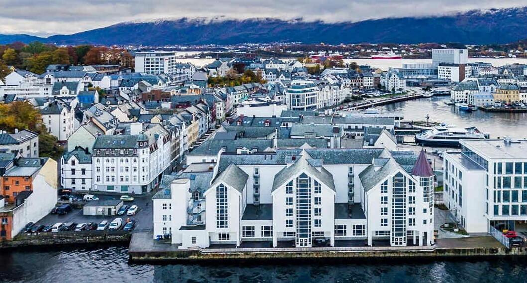 Radisson Blu Hotel Ålesund. (Foto: Rezidor)
