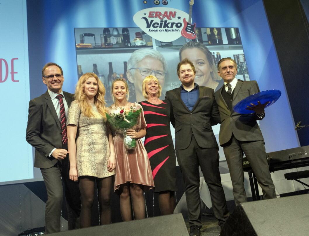ER-AN Veikro ble kåret til årets kunde. (Foto: Sjo & Floyd)