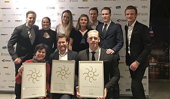 Tre priser til Nordic Choice Hotels