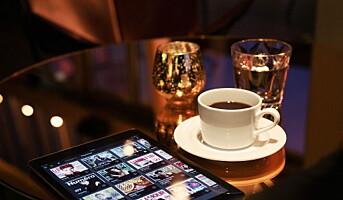 Tilbyr hotellgjestene digitale aviser og magasiner