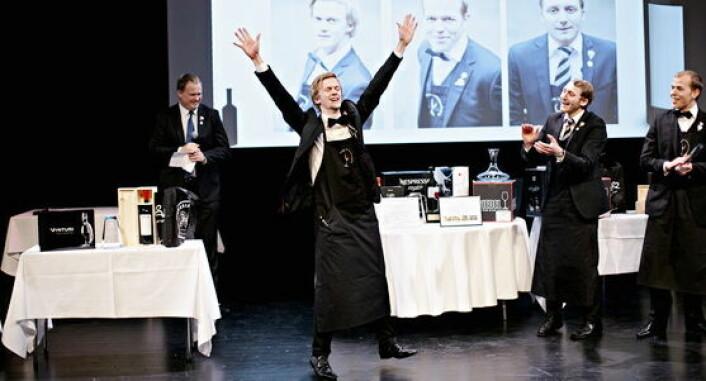 Henrik Dahl Jansen vant Norsk Vinkelnermesterskap i 2016. (Foto: Arkiv)