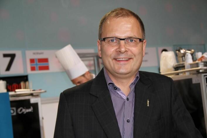 Arne Sørvig, daglig leder for Bocuse d'Or Norge. (Foto: Morten Holt)