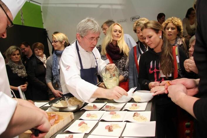 I år er det 30 år siden Arne Brimi, som første norske kokk, deltok i Bocuse d'Or i Lyon. (Foto: Morten Holt)