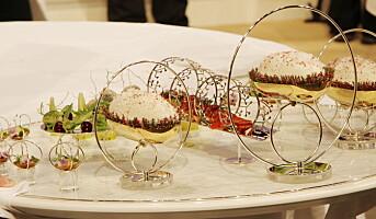 Serverer en meny inspirert av norsk vinter