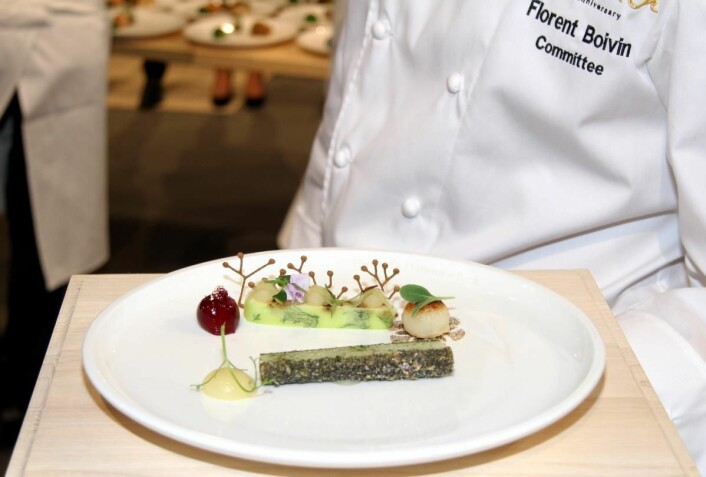 Norges vegetartallerken. (Foto: Morten Holt)