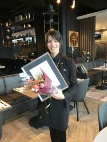 Nadia Benouddane er årets unge leder i reisebransjen. (Foto: Nordic Choice Hotels)
