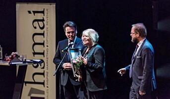 Ingunn Hofseth fikk HSMAIs ærespris