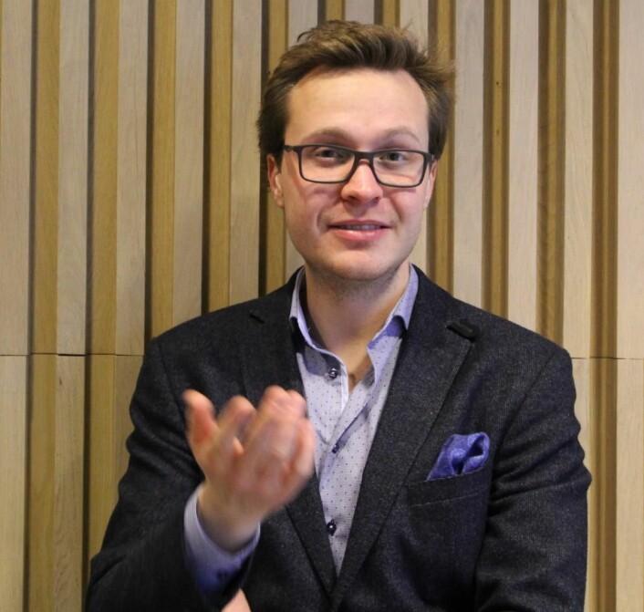 Nestleder for Serviceforum 2017, Fredrik Kirkeberg. (Foto: Serviceforum)