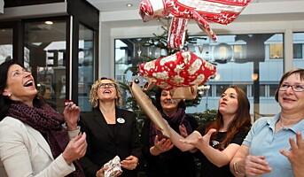 Choice samlet inn 52 000 gaver til vanskeligstilte