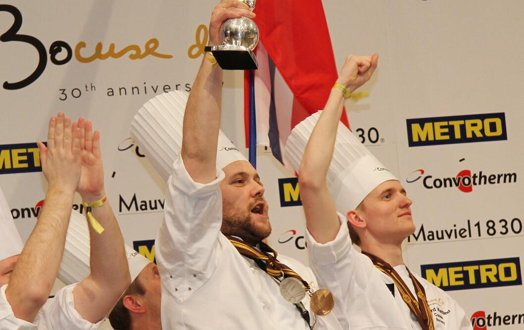Christopher W. Davidsen har gjort sin Bocuse d'or-jobb. Nå er det ni kokker som ønsker å bli hans etterfølger. (Foto: Morten Holt)