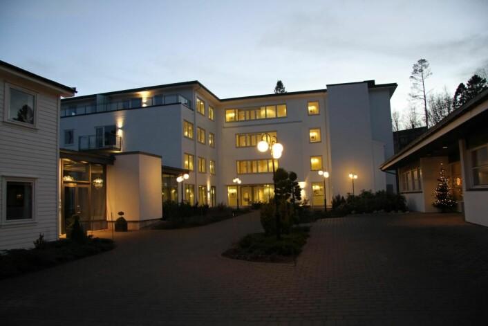Den nye delen av Strand Hotel Fevik, som ble innviet i 2010. (Foto: Morten Holt)