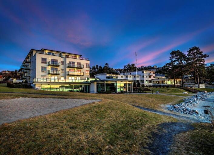 Strand Hotel Fevik. (Foto: Hotellet)