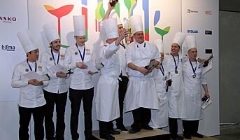 Finland vant Nordic Chefs team Challenge på Smak
