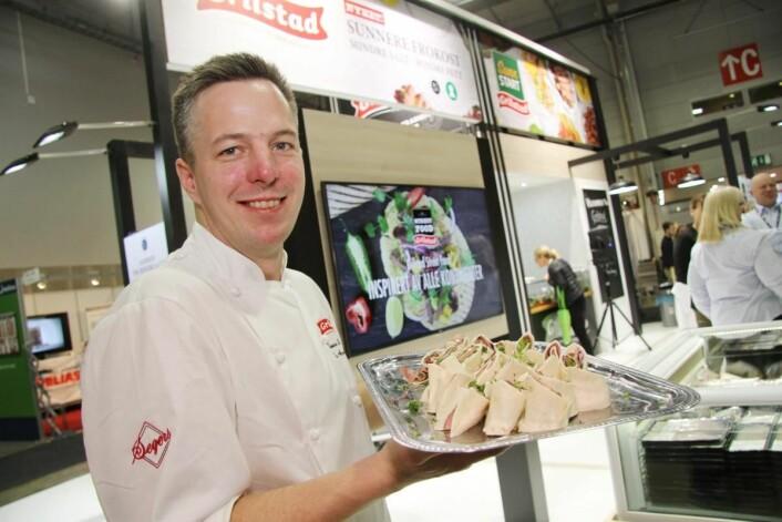 Thomas Ekenes Fosback hos Grilstad har gått i bresjen for kantine-NM, som lanseres på Smak 2017. (Foto: Morten Holt)