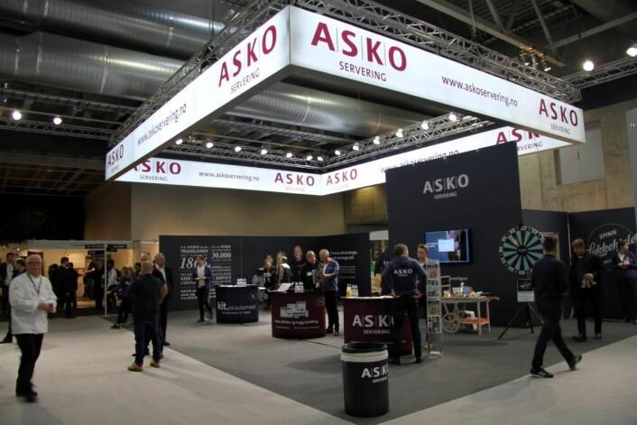 Askos stand på Smak 2017. (Foto: Morten Holt)