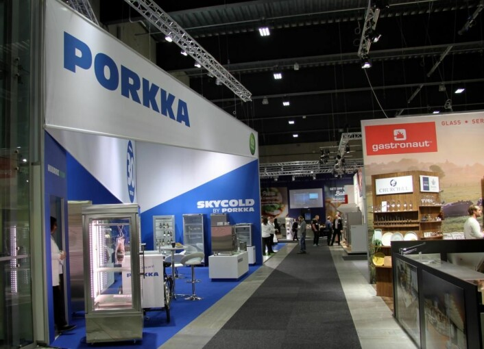Porkka og Gastronaut, faste og kjente utstillere på Smak-messen. (Foto: Morten Holt)