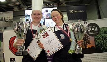 Statholdergaarden-kokkene vant Årets Grønne Kokk