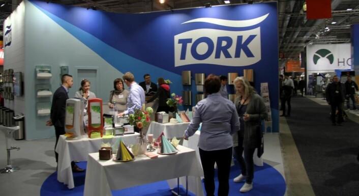 Torks stand på Smak 2017 på Norges Varemesse. (Foto: Morten Holt)