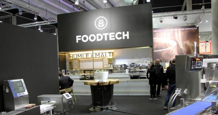 Foodtech presenterer blant annet Humle & Malt, som snart åpner på Gardermoen, på Smak 2017. (Foto: Morten Holt)