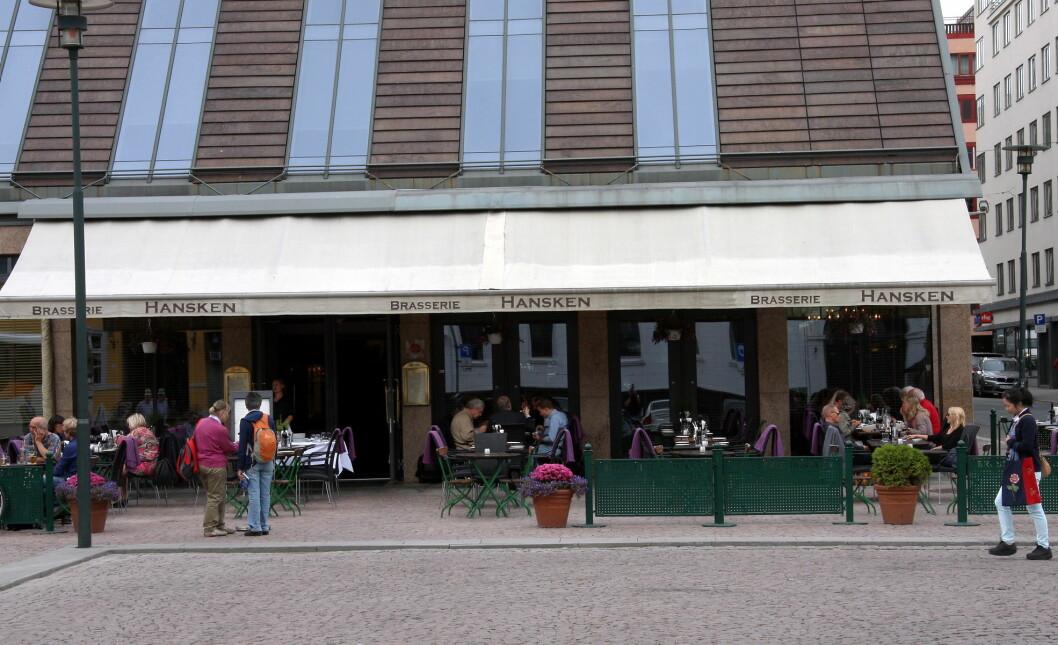 Brasserie Hansken. (Arkivfoto: Morten Holt)