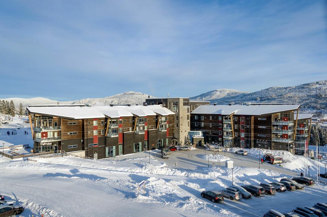 Radisson Blu Resort i Trysil tilbyr nå to store suiter i åttende etasje. (Foto: Ola Mattson)