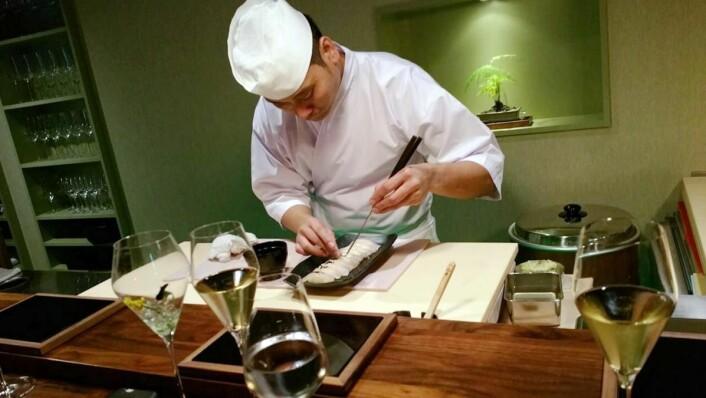 Michelin-inspektørene har twitret om et eksepsjonelt godt sushimåltid i Stavanger. Sabi Omakase ligger definitivt godt an i stjerneløypa! (Foto: Sabi Omakase)