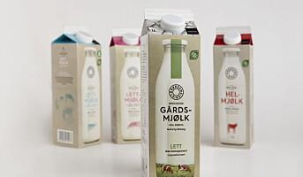 Lanserer økologisk Gårdsmjølk