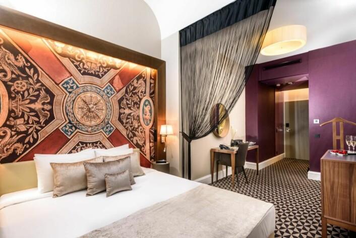 Fra Moments Hotel i Budapest.