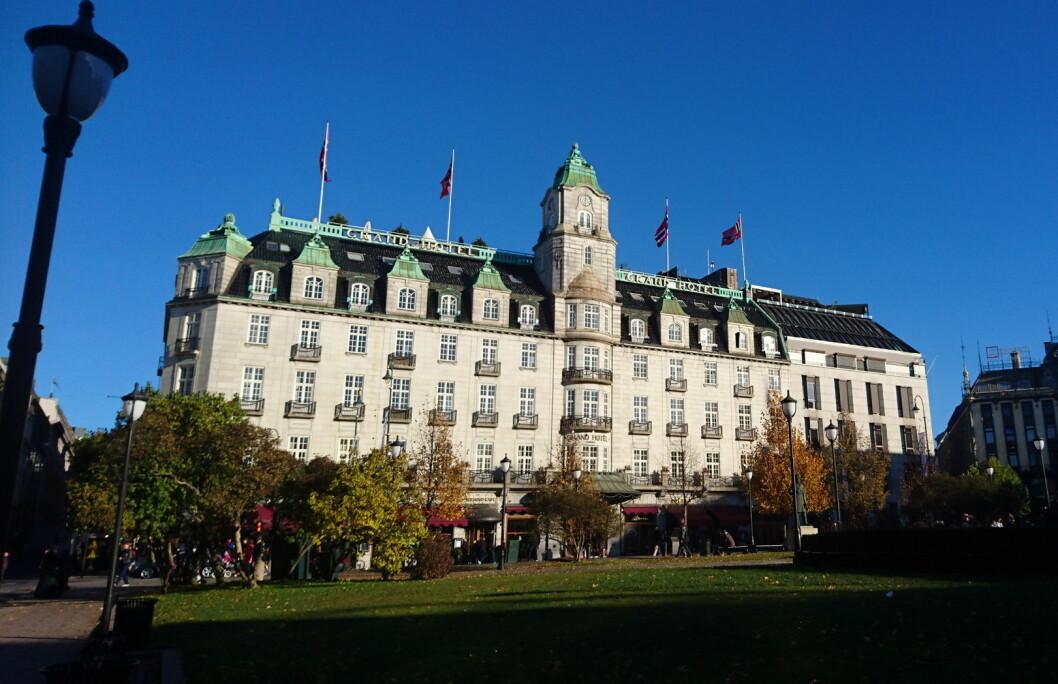 Grand Hotel i Oslo. (Foto: Heidi Fjelland)