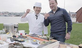 – Sushi nesten like populært som taco