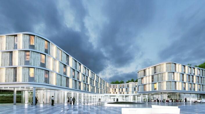 Comfort Hotel Bergen Airport. (Illustrasjon: Nordic Choice Hotels)