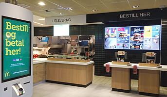 McDonald's tester nytt konsept i Norge
