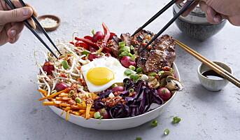 Friskt, ferskt og fargerikt fra Asia