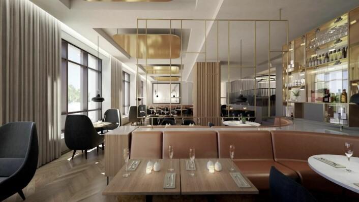Skisse fra nye Radisson Blu Atlantic Hotel i Stavanger.
