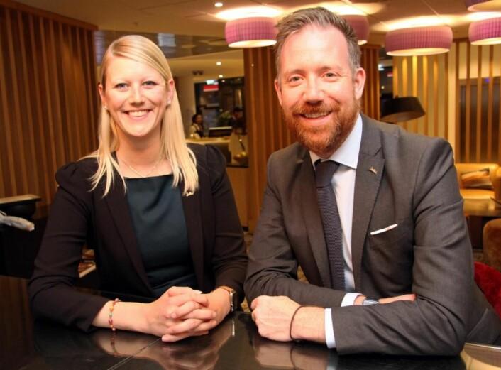 Rezidor gir mange muligheter, mener Hallre og Solstad. (Foto: Morten Holt)