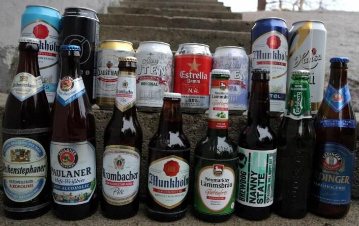 Det kommer stadig flere varianter av alkoholfritt øl i Norge. (Foto: Heidi Fjelland)