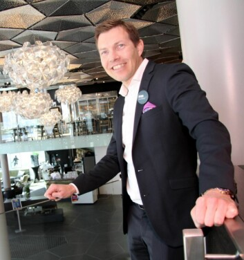 Øyvind Alapnes styrer Nord-Norges største hotell. (Foto: Morten Holt)