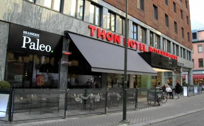 Brasserie Paleo på Thon Hotel Rosenkrantz. (Foto: Morten Holt)