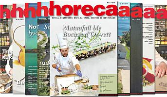 Årets andre Horeca-magasin på vei