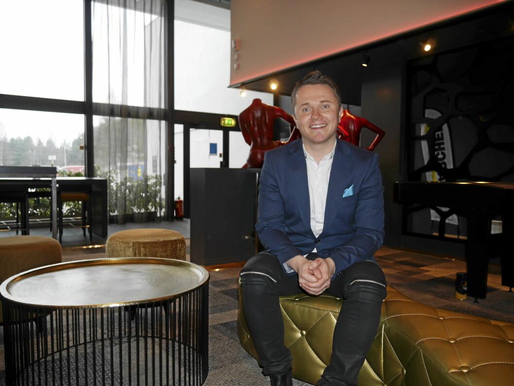 Kyrre Skoge er ny hotelldirektør på Quality Hotel Entry, tidligere kjent som Quality Hotel Mastemyr.
