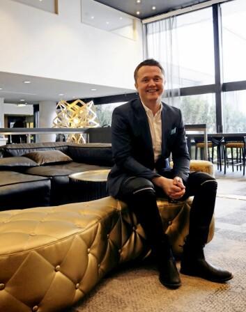 Kyrre Skoge startet hotellkarrieren på hotellet.