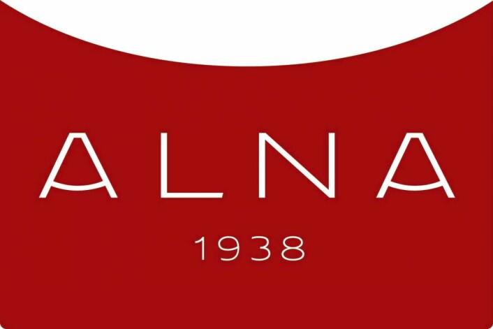Alnas nye logo.