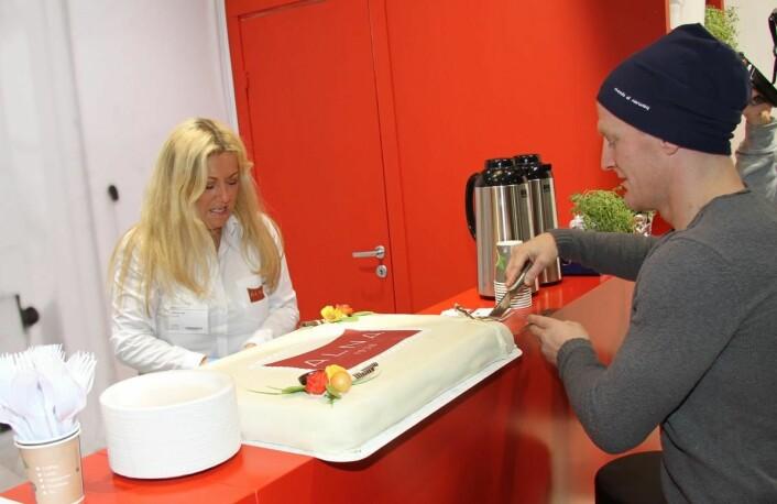 Alna har fått med bronsevinneren fra OL i Rio i fjor, Stig André Berge, på markedsføringslaget fremover. (Foto: Morten Holt)