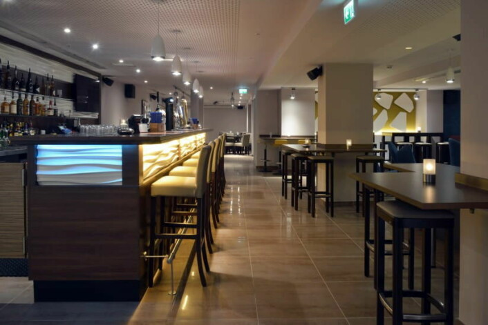 Sans Restaurant & Cocktailbar på Best Western City Plus Hotel i Oslo.