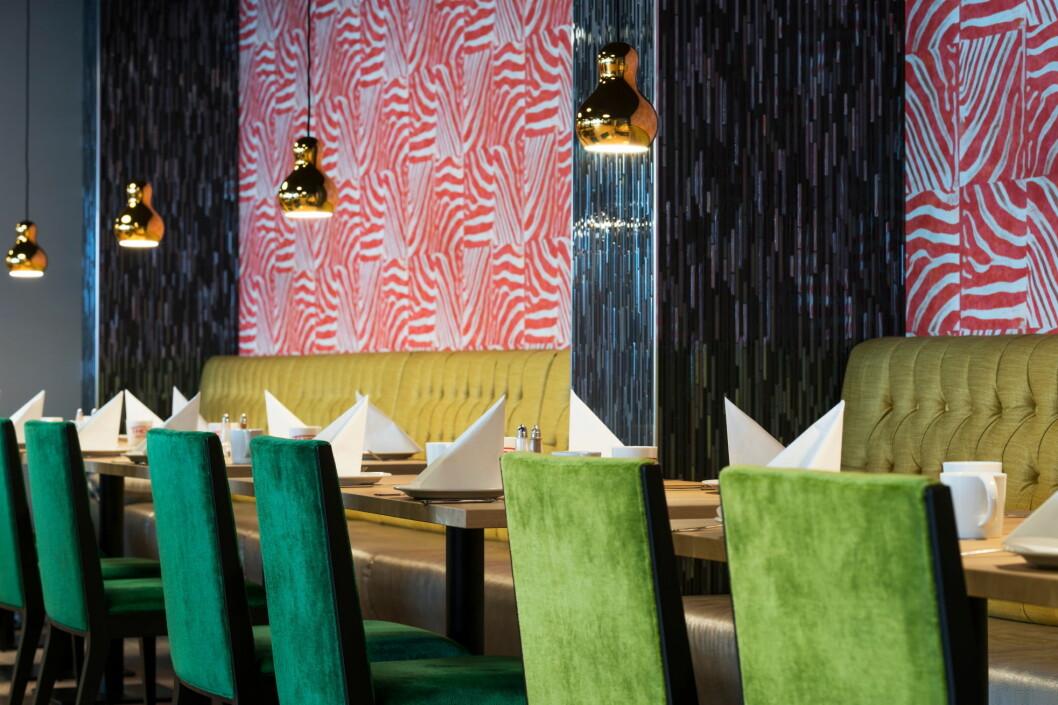 Den nyoppussede frokostsalen på Thon Hotel Orion. (Foto: Thon Hotel Orion)