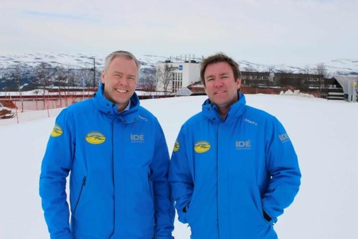 Atle (til venstre) og Bjørnar Hovi (Foto: Bjørn B Jacobsen)